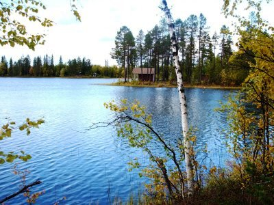 Sweden - Lake & Cabin
