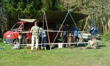 Cornwall RV bushcraft meet 2009
