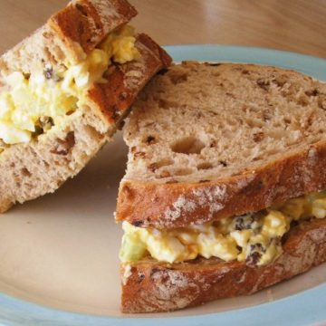 Coronation Egg Sandwich