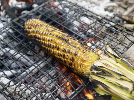 Fire Baked Corn