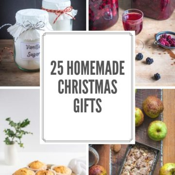 25 Homemade Christmas Gift Ideas
