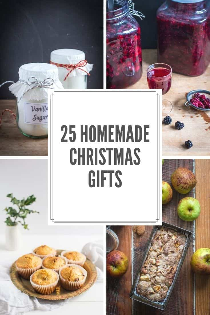 Homemade Christmas Gifts Ideas.25 Homemade Christmas Gift Ideas The Hedgecombers