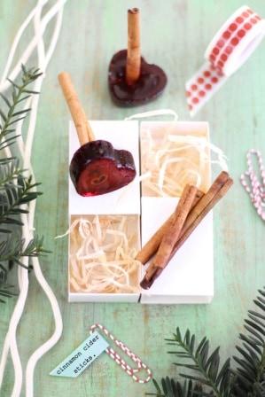 Cinnamon Cider Sticks