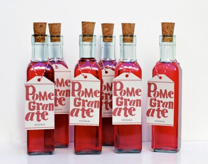 25 Christmas Gift Ideas  6 bottles of Pomegranate Vodka