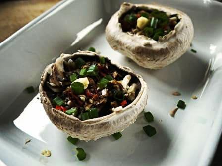 Baked Garlic Mushroom Recipe
