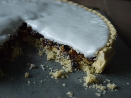 Iced Mince Pie