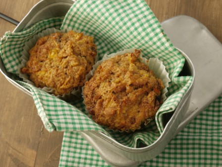 Spiced Carrot & Sultana Muffin