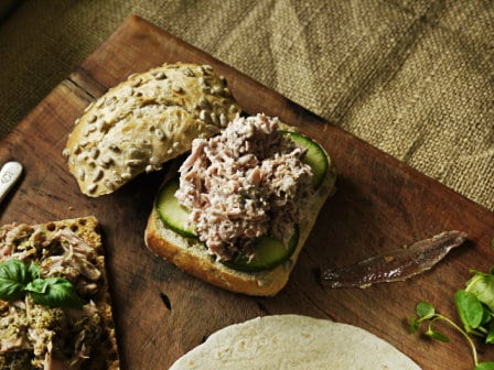 Tuna and Anchovy Mayo