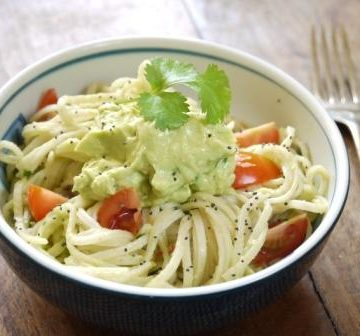 Avocado Noodles