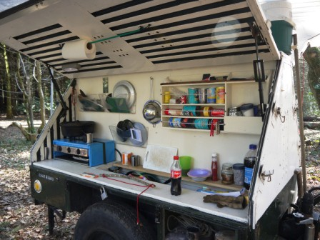 Camp Kitchen Setup Ideas