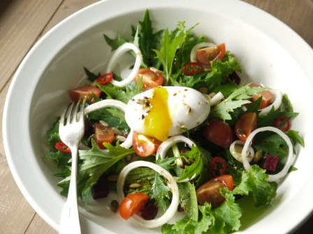 Duck Egg Salad c