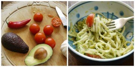 Avocado Noodles