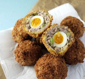 Quails Eggs, Scotch Eggs