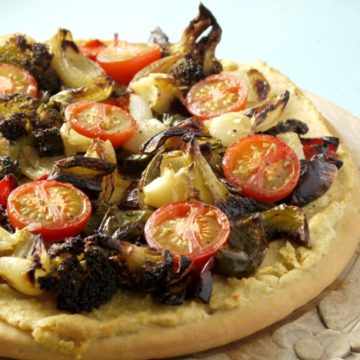 Houmous Pizza