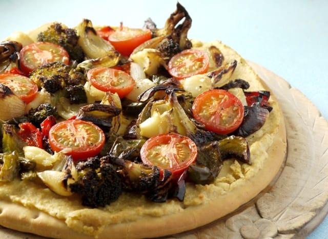 Houmous Pizza