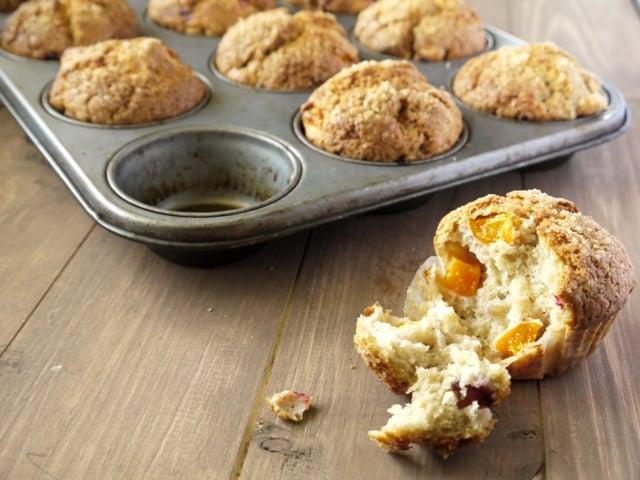 Fresh Apricot Muffin