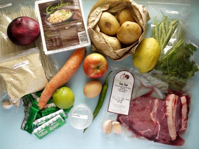 Gousto Dinner Kit