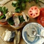 Smoked Mackerel Open Sandwich with Horseradish Mayo