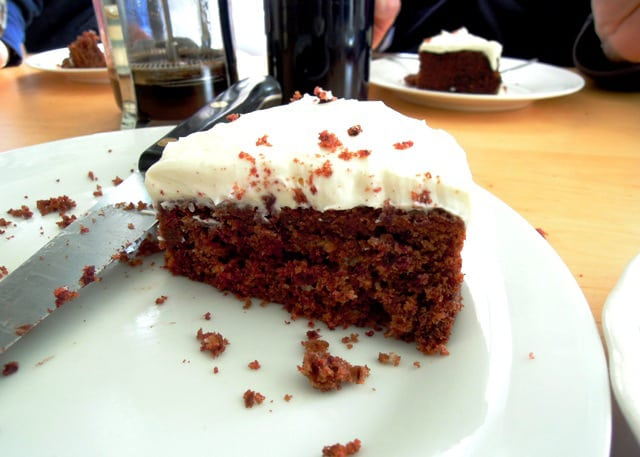 Spicy Chocolate Beetroot Cake