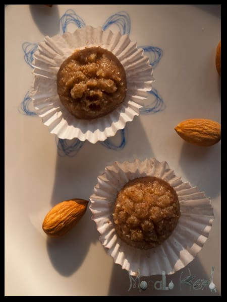 Ultimate List of Home Made Food Gifts = Natural marzipan balls