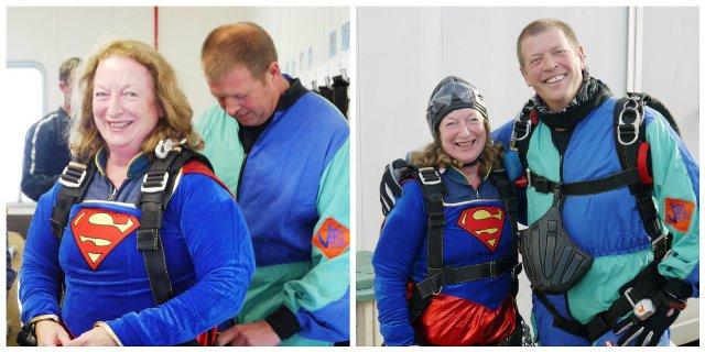 Mums Superhero Skydive