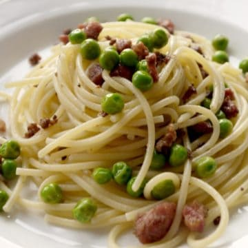 Bacon & Pea Pasta