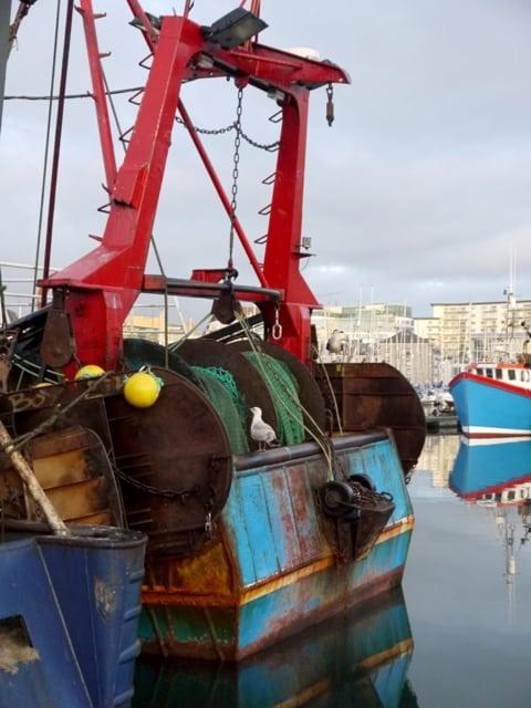 Plymouth Fishing Boats