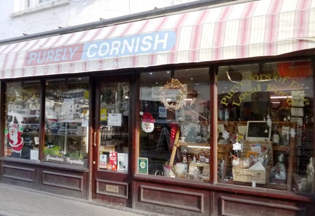 Purely Cornish Shop Front