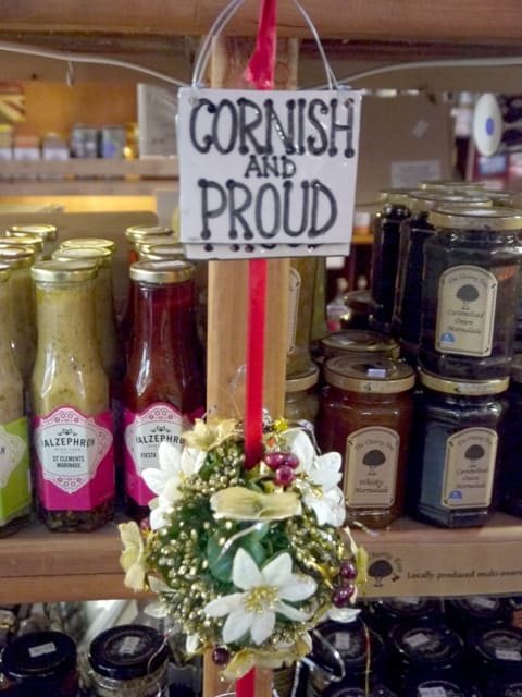 Sign saying Cornish & Proud