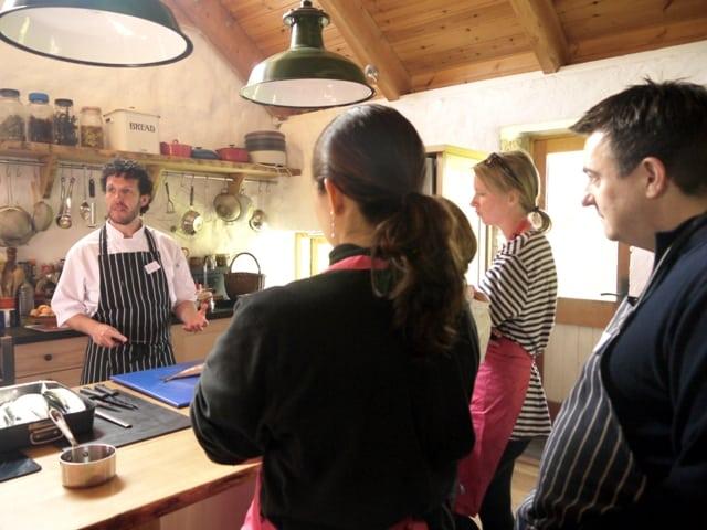 A Class at Fat Hen Wild Food Cookery School