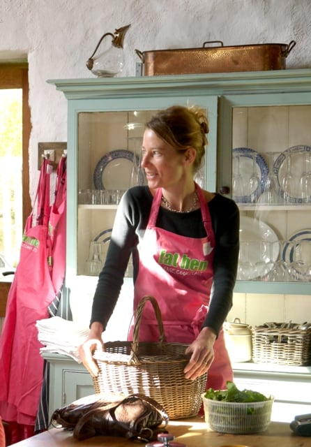 Caroline Davy, from Fat Hen Wild Food Cookery School