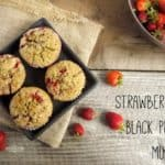 Strawberry and Black Pepper Muffins