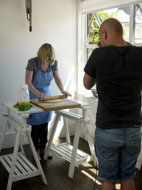 Pro Food Photoshoot for Olive Magazine