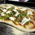 Samphire and Goats Cheese Pizza