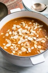 Red Pepper and Sundried Tomato Soup | The Hedgecombers