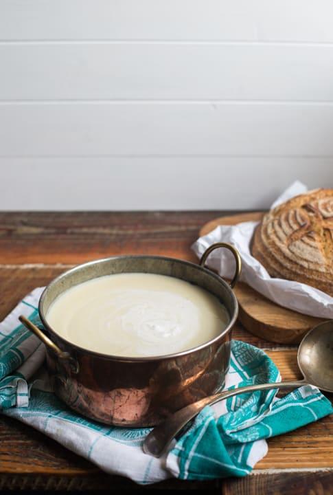 Cream of Celeriac Soup | The Hedgecombers