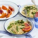 Blood Orange & Asparagus Pasta