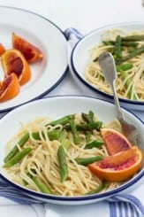 Blood Orange & Asparagus Pasta