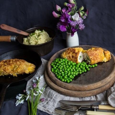 Wild Garlic Chicken Kiev Recipe