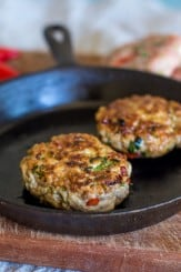 Turkey Lemongrass Burger