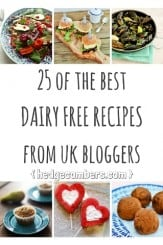25 of the best dairy free recipes from UK bloggers