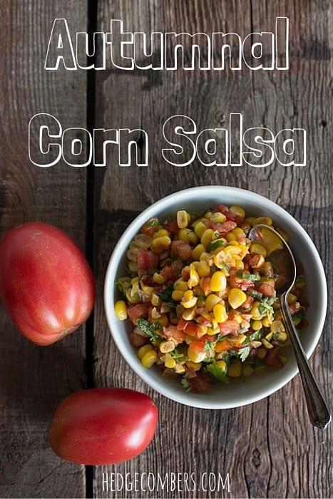 Autumnal Corn Salsa