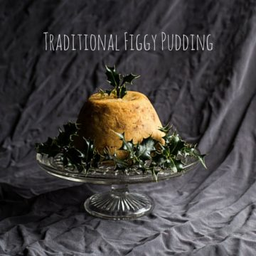 Traditional Figgy Pudding