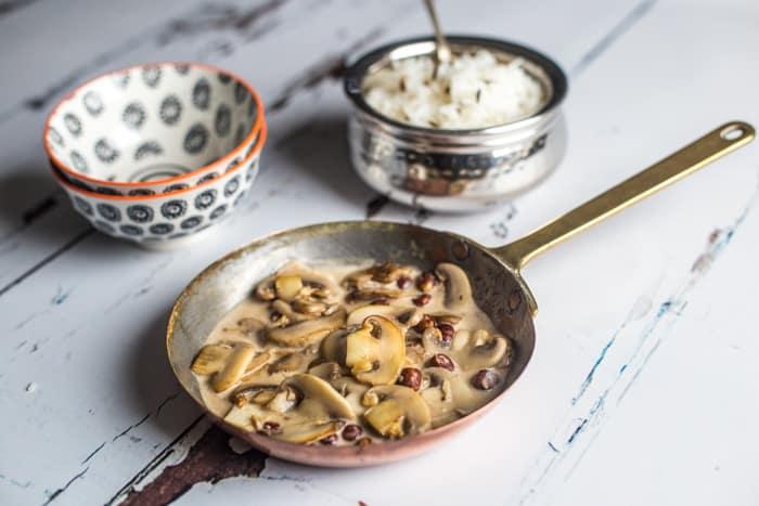 Mushroom and Hazelnut Speedy Starter