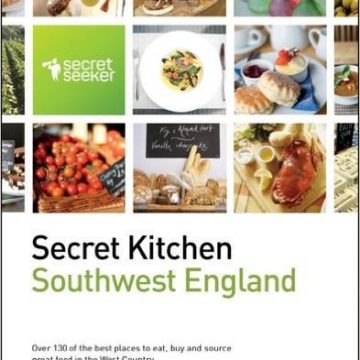 Secret Kitchen Southwest England front cover of guide book