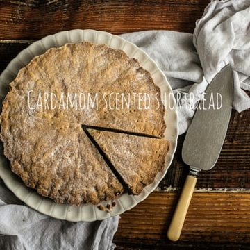 A recipe for Cardamom Scented Shortbread