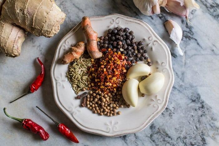 Hot Prawn Madras Curry