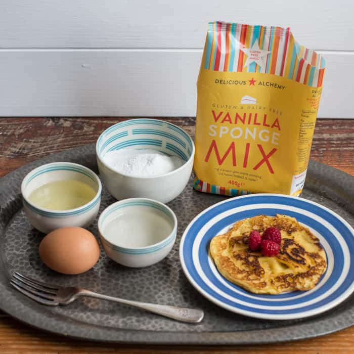 Vanilla Puffy Pancakes