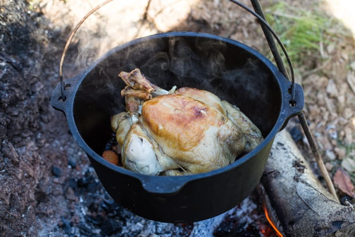 Dutch Oven Roast Chicken The Hedgecombers