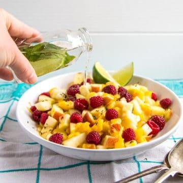 Mojito Fruit Salad Dressing